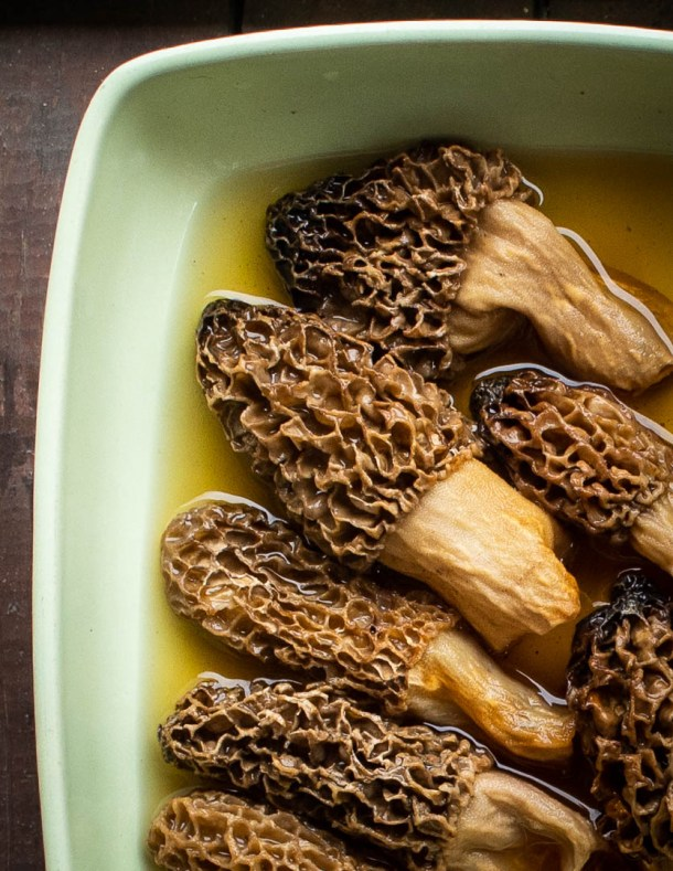 cooking with dried morel mushrooms