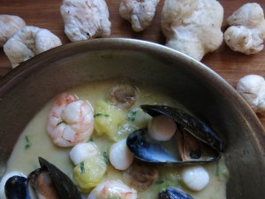 entoloma mushroom ragu with shellfish recipe