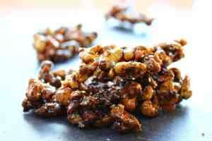salted black walnut croquant recipe