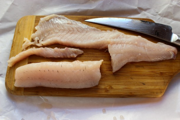 boneless walleye filet