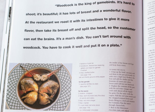 woodcock recipe from marco pierre white
