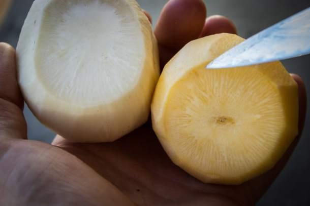 rutabaga, turnip, root vegetable