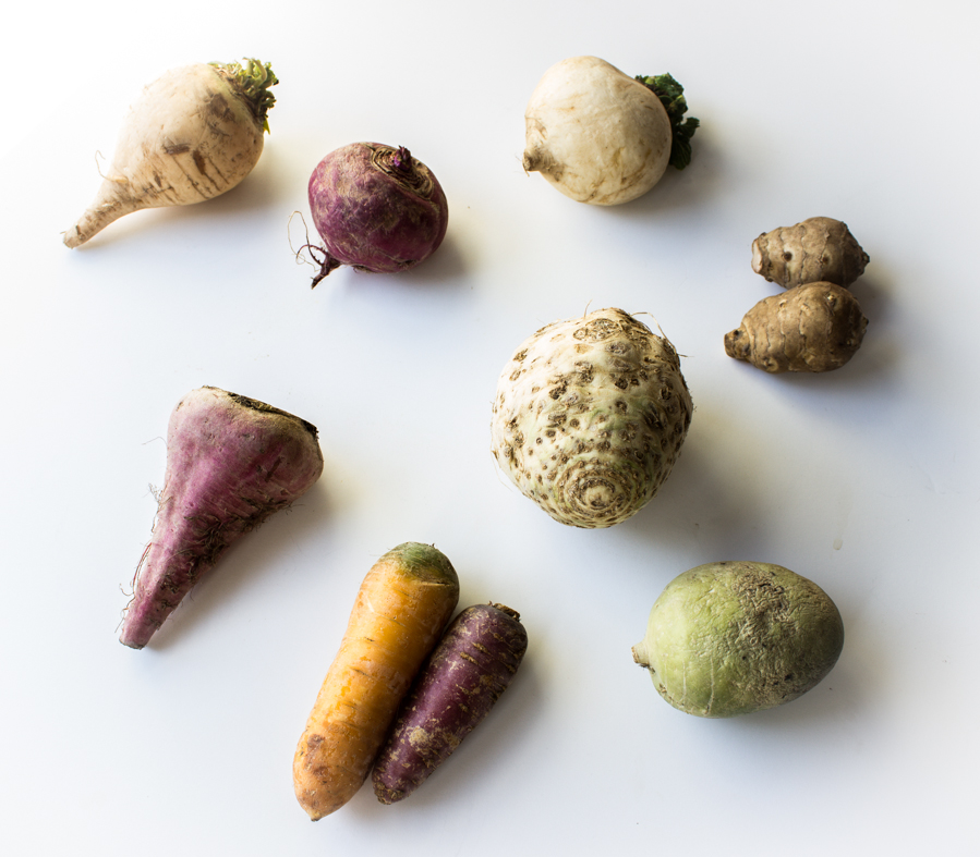 Root Vegetable Recipe With Pickled Ramps