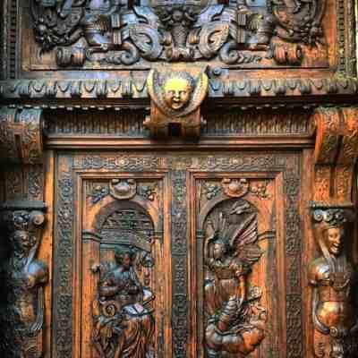 Doors of St. Peter's church, Aix-en-Provence