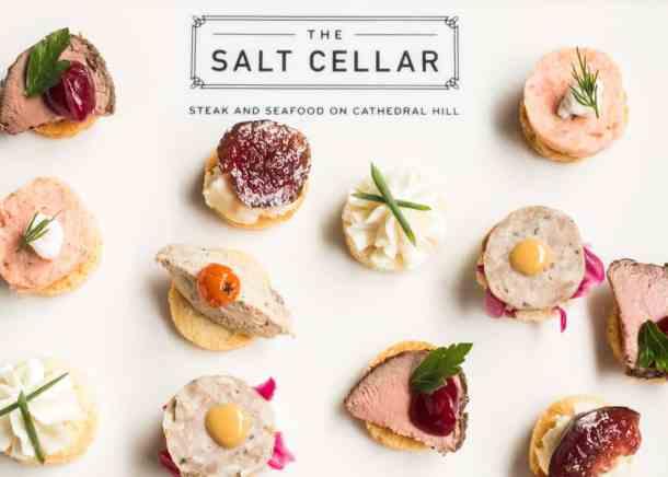 Salt Cellar Canapes_