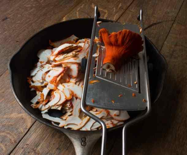 Lobster Mushroom Pave