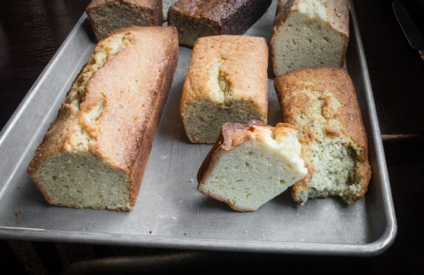 Angelica seed pound cake