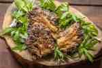 Fried Gyromitra Caroliniana murklor