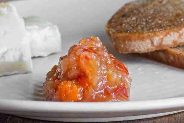Rugosa rosehip crabapple jam