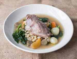End of winter goat shoulder stew