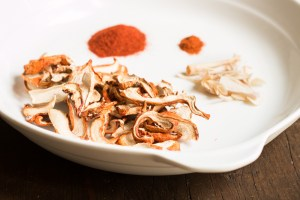 Lobster mushroom powder seasoning blend recipe