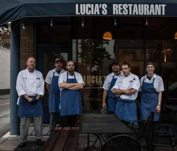 closing lucia's restaurant chef alan bergo