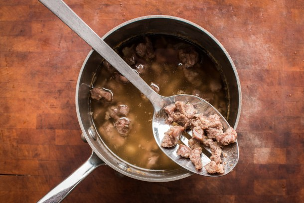 Arabic venison confit recipe or qawarma