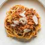 Venison heart bolognese recipe