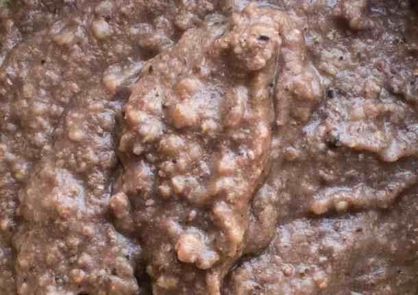 Acorn flour grits recipe