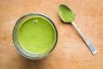 Ramp leaf salsa verde recipe