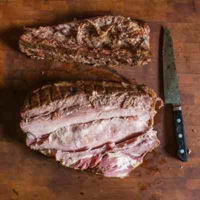 Homemade English Bacon Recipe