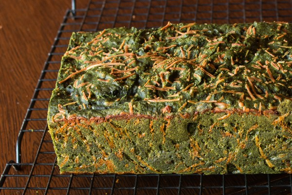 Stinging nettle bread with black walnuts recipe