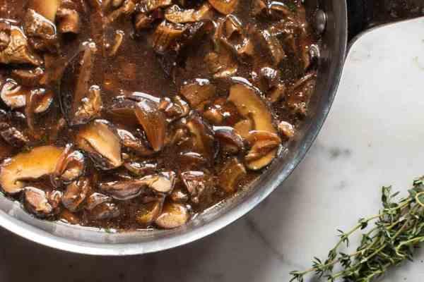 Dried wild mushroom ragu recipe with dried boletes