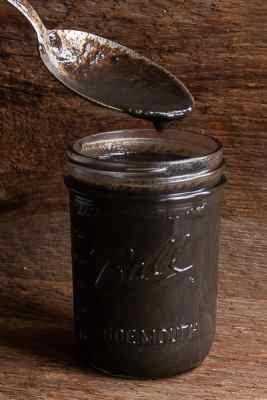 Shaggy mane mushroom ink recipe