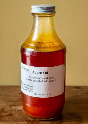 Water oak acorn oil from Foragers Harvest
