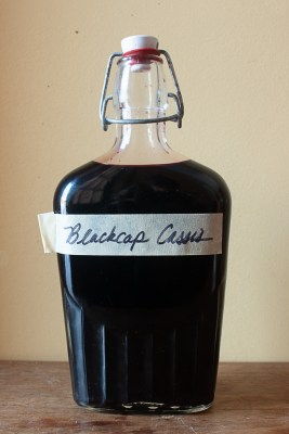 Black cap raspberry cassis recipe