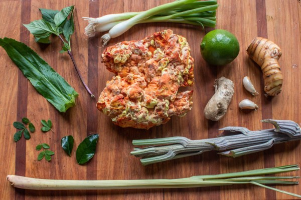 Chicken of the woods mushroom tom kha gai soup recipe ingredients