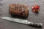 Smoked venison neck pastrami recipe