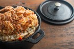 Wild Rice Chicken of the Woods Casserole with Fried Shallots (10)