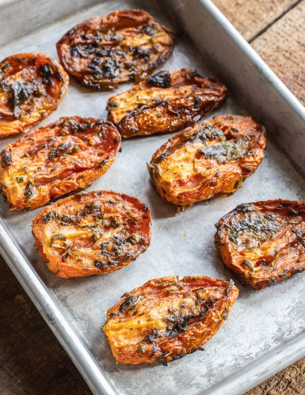 oven dried tomatoes recipe
