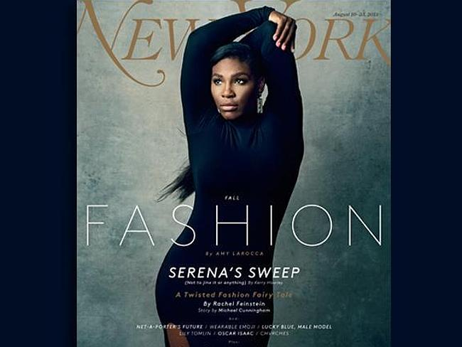 Serena WIlliams | Norman Jean Roy for New York Mag