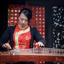 Guzheng player in Chengdu | Foraggio Photographic