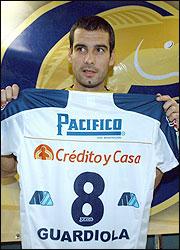 Guardiola, aquell exjugador del Dorados