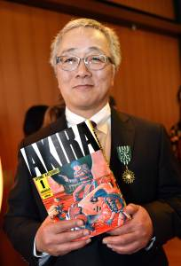 Katsuhiro Otomo. Looks pretty content for a dude the blew up Japan. Source: Japan TImes