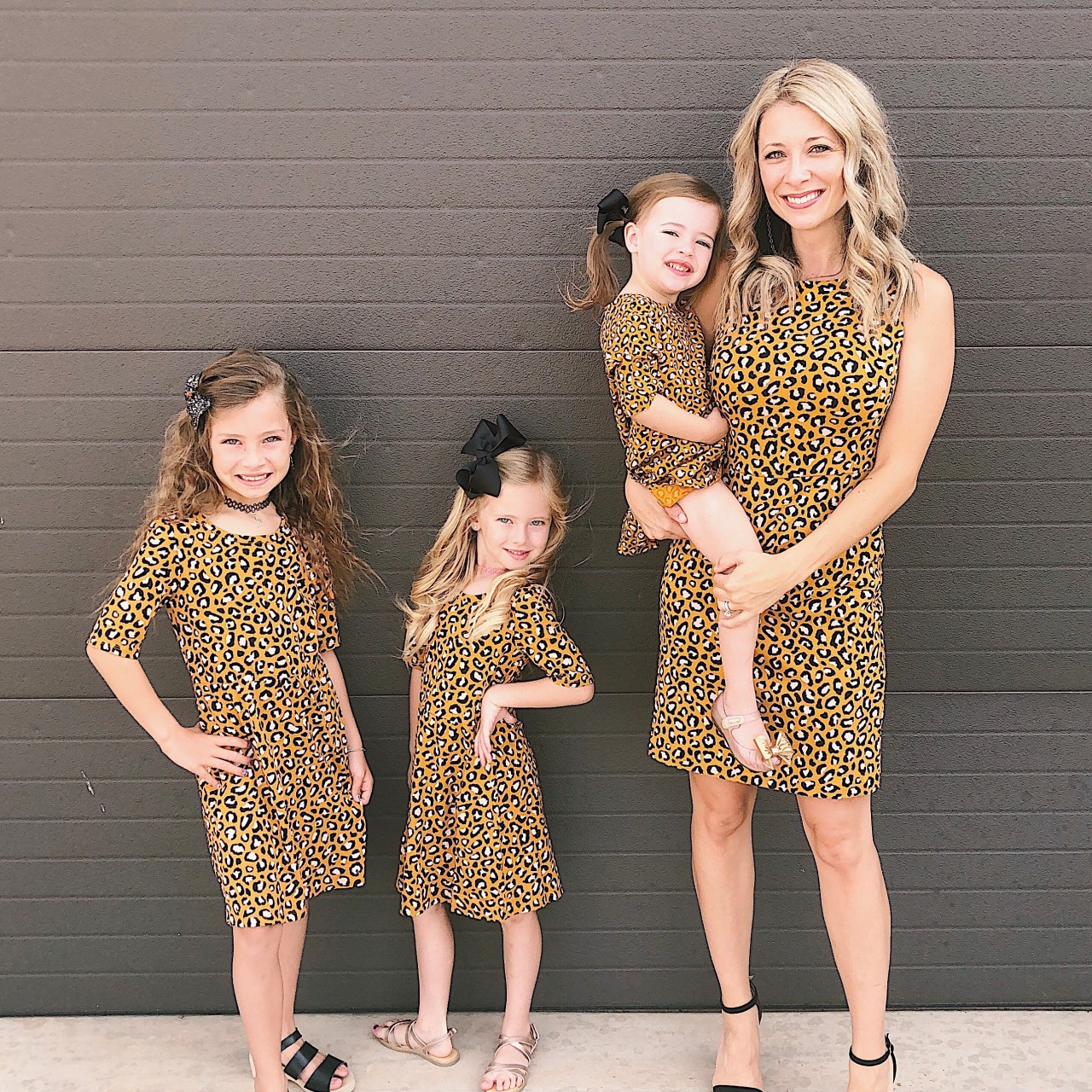 The most PURRRRFECT Mommy/Daughter dresses