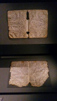 Quran from the museum written with gold