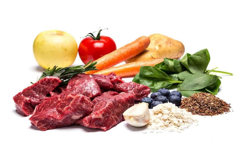 Alimentos naturales.