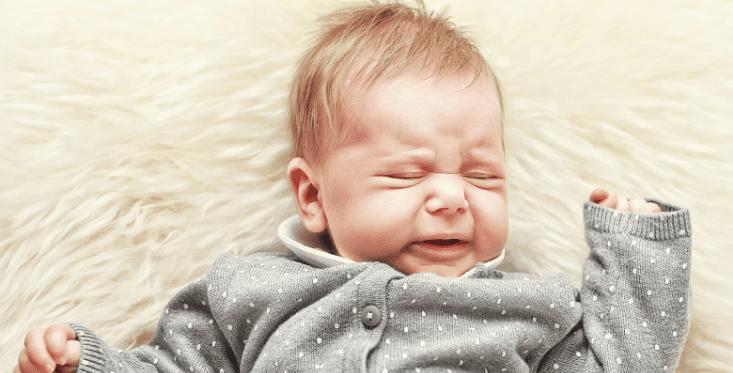 Os significados do choro do bebé