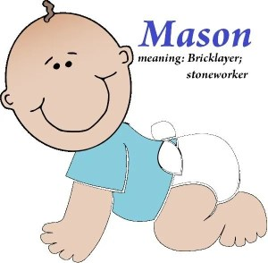 meaning of the name mason for a boy