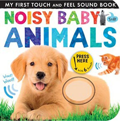 Top 5 Must-Have Noisy Sound Books for Baby (My First Touch and Feel Sound Book)
