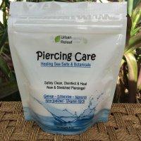 PIERCING CARE 6 oz BAG ! Healing Sea Salts &...