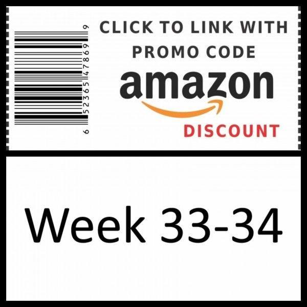 Amazon Promo Code 2018 - week 33-34