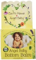 Earth Mama Bottom Balm, Natural Diaper Cream, Made with Organic...