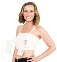 Simple Wishes D Lite Hands Free Pumping Bra, Patented, Soft...