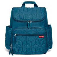 Skip Hop Forma Travel Carry All Diaper Backpack with Insulated...