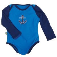 Sun Smarties Baby UPF 50+ Long Sleeve One Piece Swimsuit...