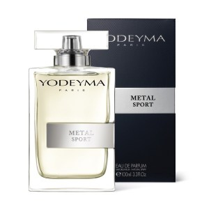 METAL SPORT  Apa de parfum 100 ml - note chypre citrice