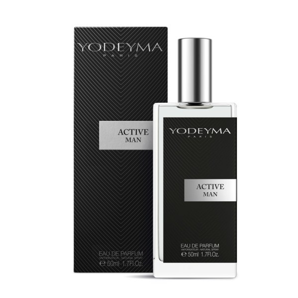 ACTIVE MAN YODEYMA Apă de parfum 50 ml - note chypre fresh