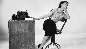 mujer, blanco y negro, teléfono