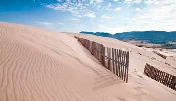 Playa de Bolonia en el Parque Natural del Estrech